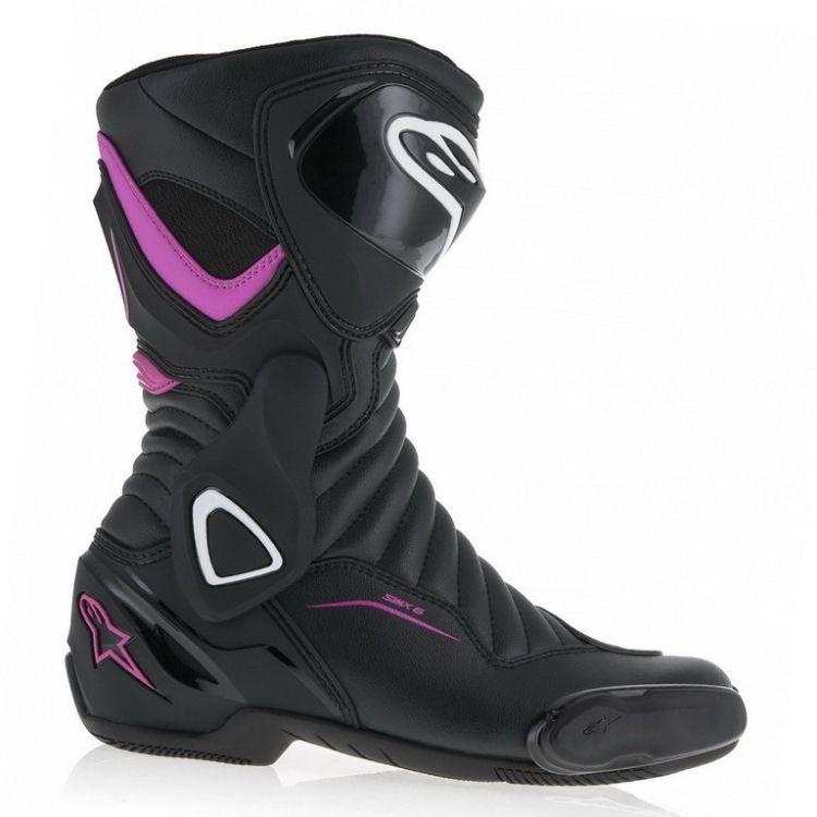 617de0d4343 Dámské sportovní moto boty Alpinestars STELLA S-MX 6 V2 černá růžová (pár)