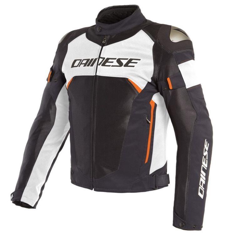 Pánská sport moto bunda Dainese DINAMICA AIR D-DRY černá bílá fluo-červená 8ff1e8b45d4