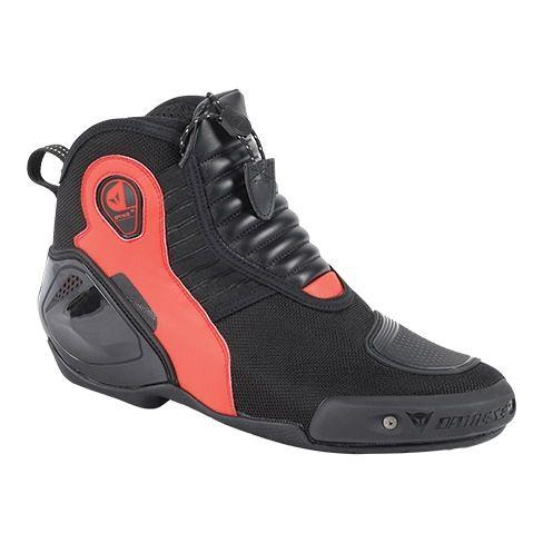 Kotníkové moto boty Dainese DYNO D1 černá fluo-červená 50da21affa