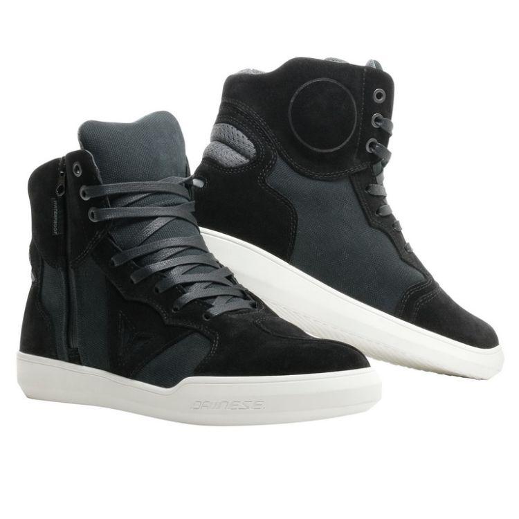 Kotníkové skútr boty Dainese METROPOLIS D-WP vel.40 černá antracitová 9758e6e543