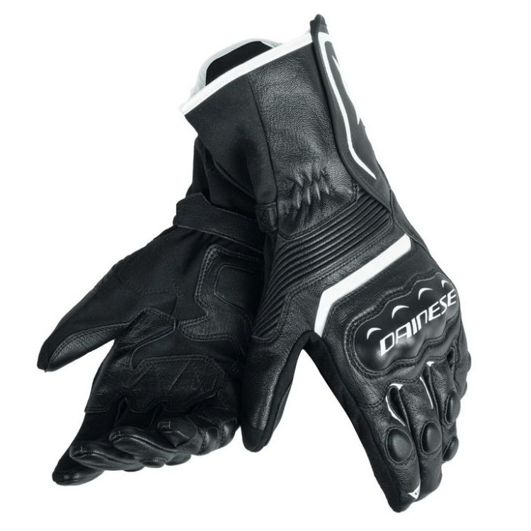 169ac8024d3 Pánské rukavice na motorku Dainese ASSEN černá bílá