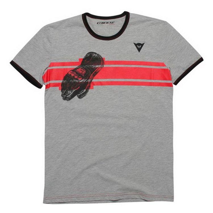 Pánské triko s krátkým rukávem Dainese GLOVE vel.M antracitová ... 233bbaa74d