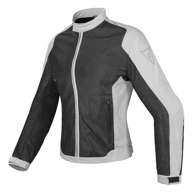 Dámská letní moto bunda Dainese AIR-FLUX D1 LADY TEX černá šedá ... e89eb46718e