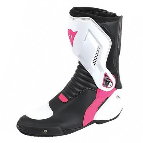bceb01e2168 Dámské moto boty Dainese NEXUS LADY černá bílá růžová
