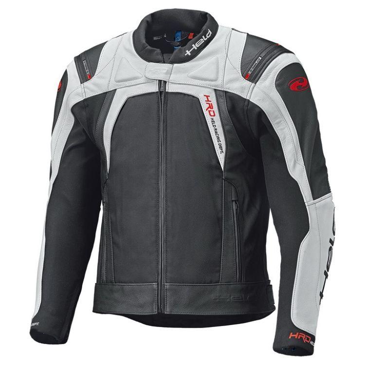 Pánská sport moto bunda Held HASHIRO 2 černá bílá d0eef287e45