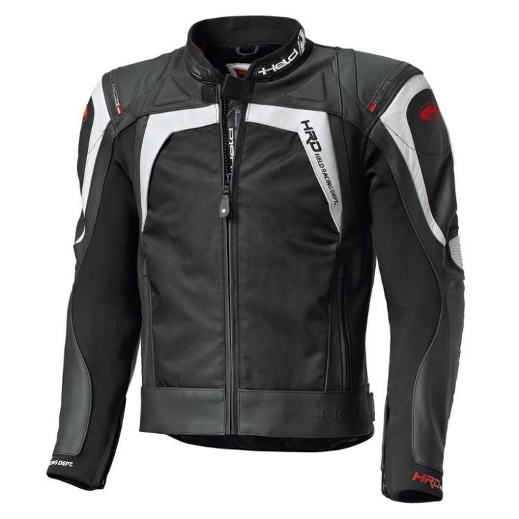 eeb11394ae1 Pánská sport moto bunda Held HASHIRO černá bílá