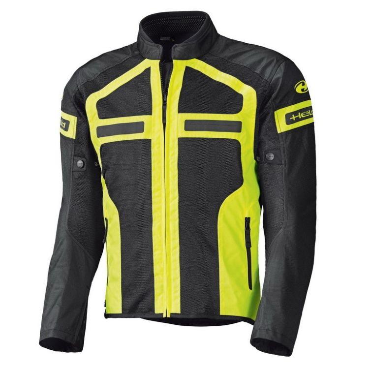 Pánská letní moto bunda Held TROPIC 2 černá fluo žlutá ddfd17df0e0