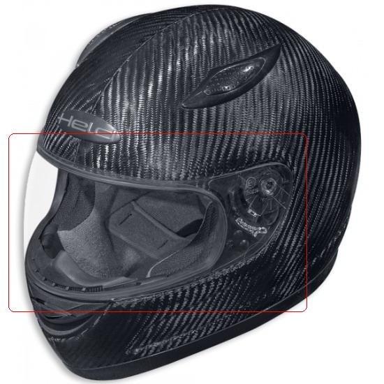 d1f2e956cde Plexi pro motocyklovou přilbu Held TRAVEL X
