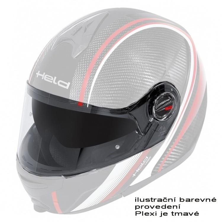 facccf88405 Plexi tmavé pro motocyklovou přilbu Held CT-1200 a TURISMO