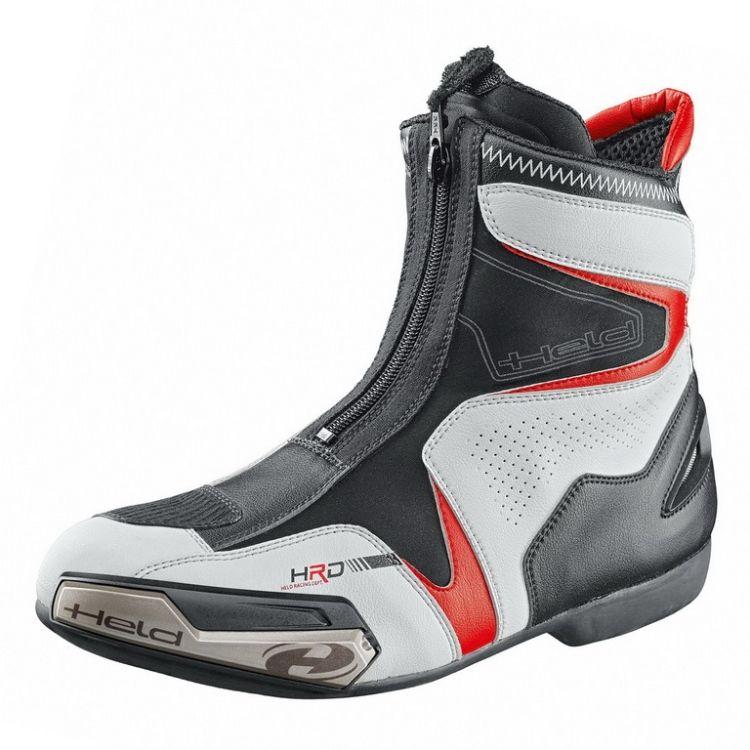 a257ccb8c27 Sportovní kotníkové moto boty SHORT LAP vel.47 bílá černá