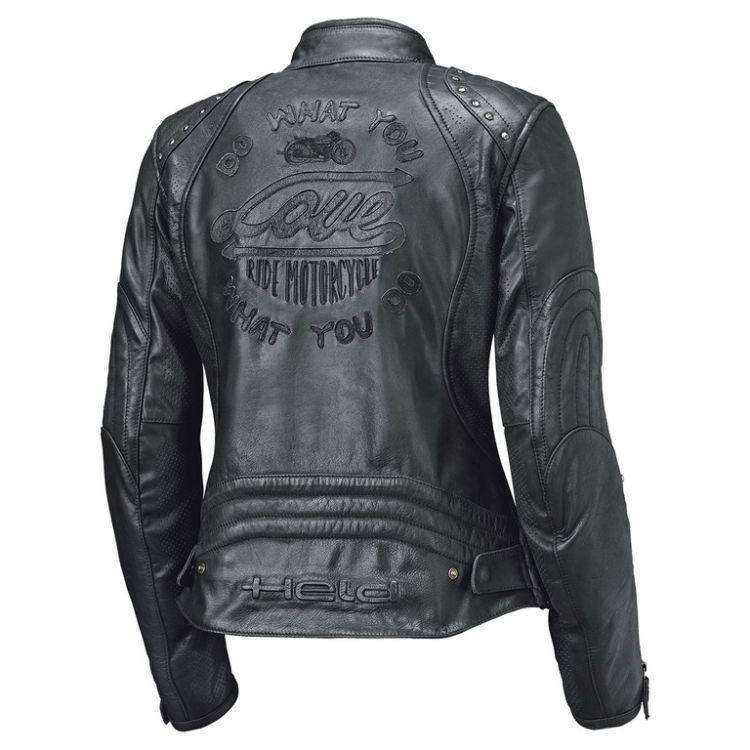 Dámská kožená bunda na motorku Held ASPHALT QUEEN 2 černá  d204c6369e