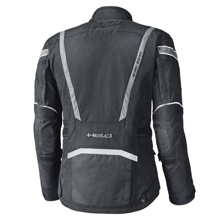 Letní enduro moto bunda HAKUNA 2 černá šedá (voděodolná úprava ... 168d331845