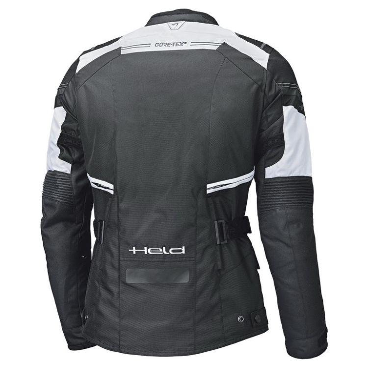 Pánská moto bunda Held MOLTO Gore-Tex černá bílá  cebddece00c
