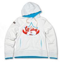 0469a6e597c Výprodej VESPA Dámská mikina s kapucí VESPA STAR bílá